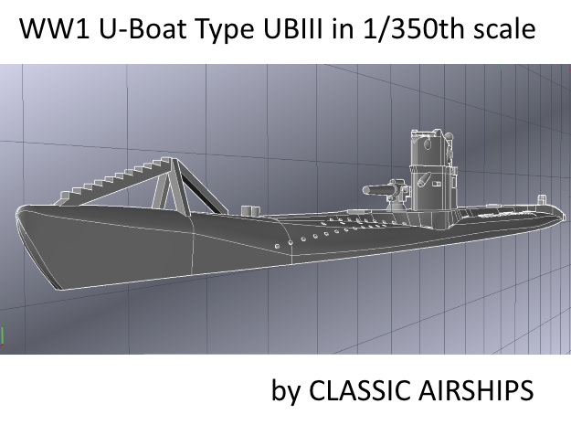 The Ship Model Forum • View topic - U-Boat Type UBIII of WW1
